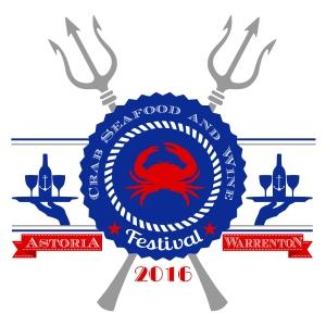 Crab Festival 2016 Tshirt Design