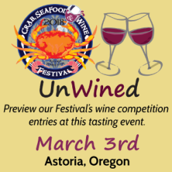 UnWined Logo and Date